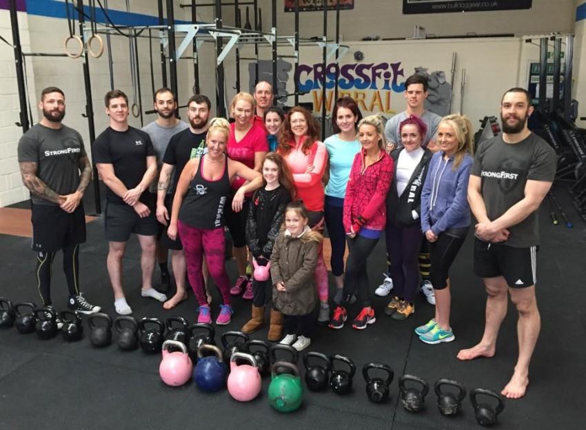 Hardstyle Kettlebell for CrossFit Workshop